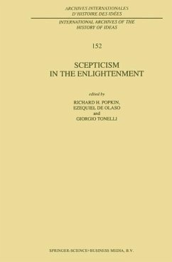 Scepticism in the Enlightenment - Popkin, R.H. / de Olaso , Ezequiel / Tonelli , Giorgio (eds.)