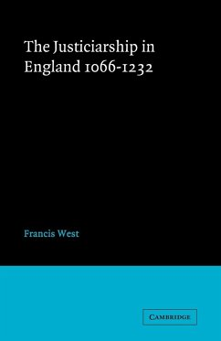 Justiceship England 1066 1232 - West, F. West, Francis