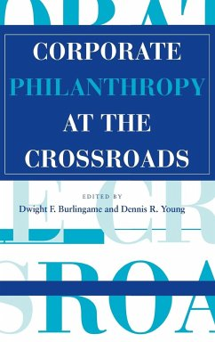 Corporate Philanthropy at the Crossroads - Herausgeber: Burlingame, Dwight F. Young, Dennis R.