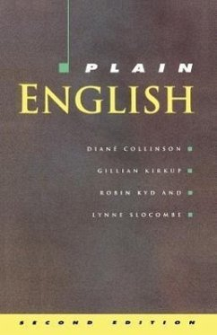 Plain English - Collinson, Diane Kirkup, Gillian