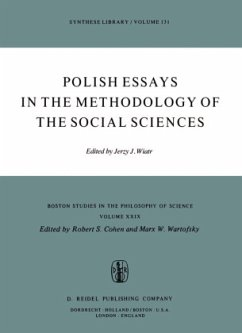 Polish Essays in the Methodology of the Social Sciences - Wiatr, J. (ed.)
