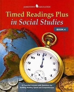 Timed Readings Plus in Social Studies Book 4 - Herausgeber: McGraw-Hill/Glencoe