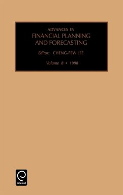 Advances in Financial Planning and Forecasting - Sutton, Steven G. Lee, Cheng-Few Cheng-Few Lee, Lee
