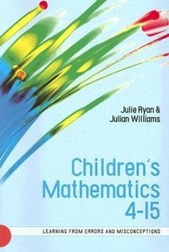 Children's Mathematics 4-15 - Ryan, Julie T. Williams, Julian