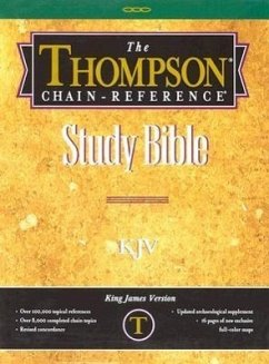 Thompson-Chain Reference Bible-KJV - Herausgeber: Kirkbride Bible Company