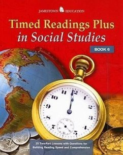 Timed Readings Plus in Social Studies Book 6 - Herausgeber: McGraw-Hill/Glencoe