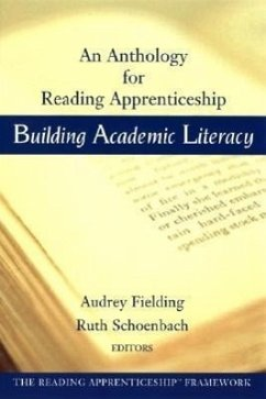 Building Academic Literacy: An Anthology for Reading Apprenticeship - Herausgeber: Fielding, Audrey Schoenbach, Ruth