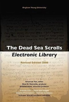 The Dead Sea Scrolls Electronic Library [With Booklet] - Herausgeber: Tov, Emanuel / Dirigent: Reynolds, Noel B. Heal, Kristian