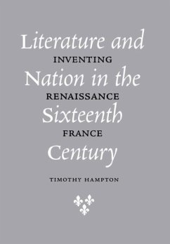 The Literature and Nation in the Sixteenth Century: On Ethics and Reading in Nineteenth-Century British Literature - Hampton, Timothy