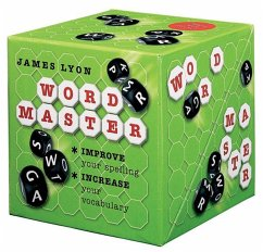 Word Master: Improve Your Spelling, Increase Your Vocabulary [With 5 Letter Dice and 200 Magnetic Letter Tiles and Gameboard] - Lyon, James
