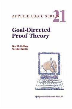 Goal-Directed Proof Theory - Gabbay, Dov M. Olivetti, N.
