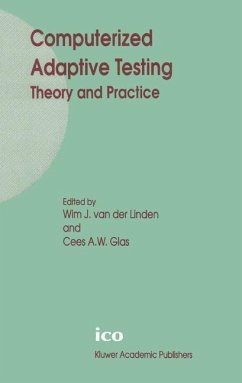 Computerized Adaptive Testing: Theory and Practice - van der Linden