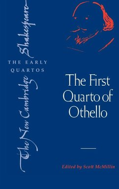 The First Quarto of Othello - Shakespeare, William