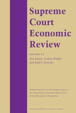 The Supreme Court Economic Review, Volume 5 - Herausgeber: Demsetz, Harold Gellhorn, Ernest Lund, Nelson