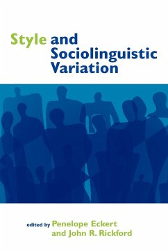 Style and Sociolinguistic Variation - Eckert, Penelope / Rickford, R. (eds.)