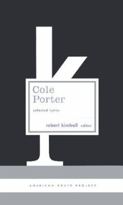 Cole Porter: Selected Lyrics - Porter, Cole