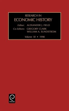 Research in Economic History - Clark, G. Sundstrom, W. a. Alex J. Field, J. Field