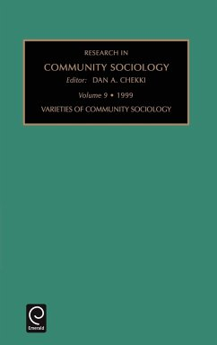 Research in Community Sociology - Dan a. Chekki, A. Chekki Dan a. Chekki