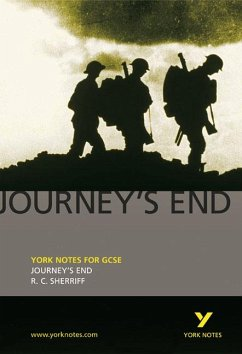 Journey´s End: York Notes for GCSE - Sherriff, R. C.