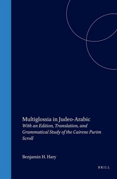 Multiglossia in Judeo-Arabic: With an Edition, Translation, and Grammatical Study of the Cairene Purim Scroll - Hary, Benjamin