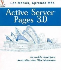 Active Server Pages 3.0: Su Plano Visual Para Desarrollar Itios Web Interactivos - Whitehead, Paul