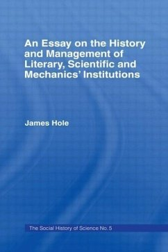 Essay on History and Management: Essay Hist Management - Hole, James