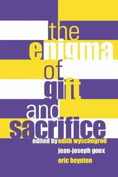 Enigma of Gift and Sacrifice Enigma of Gift and Sacrifice - Fordham University Press Fordham University Press