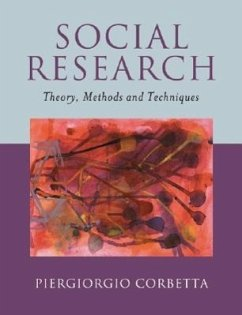 Social Research: Theory, Methods and Techniques - Corbetta, Piergiorgio