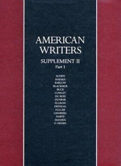 American Writers: Supplement: A Collection of Literary Biographies Part 1 W.H. Auden to O. Henry - Herausgeber: Charles Scribners & Sons Publishing