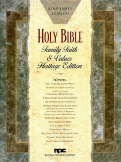 Family Faith & Values Bible-KJV-Heritage - Herausgeber: National Publishing Company