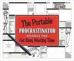 The Portable Procrastinator Doodle Pad: Get Busy Wasting Time - Herausgeber: Production Line