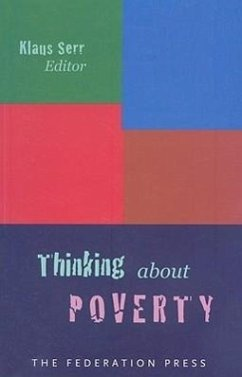 Thinking about Poverty - Herausgeber: Serr, Klaus