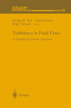 Turbulence in Fluid Flows - Sell, George R. / Foias, Ciprian / Temam, Roger (eds.)