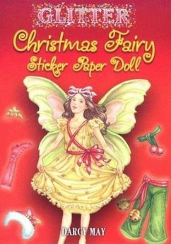 Glitter Christmas Fairy Sticker Paper Doll - May, Darcy