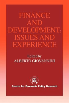 Finance and Development: Issues and Experience - Herausgeber: Giovannini, Alberto