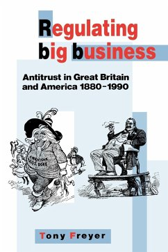 Regulating Big Business: Antitrust in Great Britain and America, 1880 1990 - Freyer, Tony