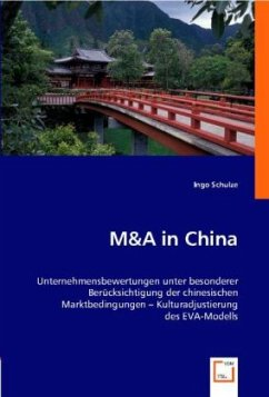 M&A in China - Schulze, Ingo