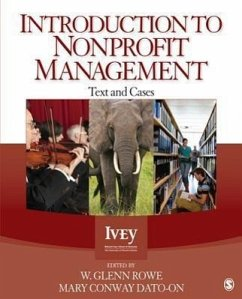 Introduction to Nonprofit Management - Herausgeber: Rowe, W. Glenn Dato-on, Mary Conway