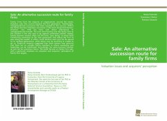 Sale: An alternative succession route for family firms - Granata, Darya Chirico, Francesco Gazzola, Patrizia