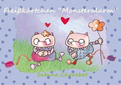 Fleißkärtchen ´Monsteralarm´ - Illustration: Cherebet, Sabine