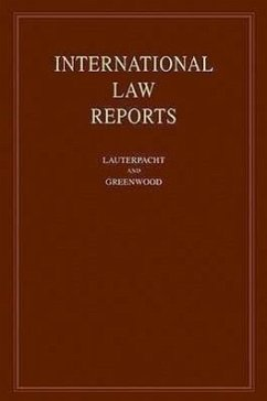 International Law Reports: Volume 138 - Elihu, Lauterpacht Christopher J. , Greenwood Karen, Lee