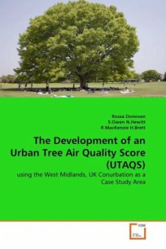 The Development of an Urban Tree Air Quality Score (UTAQS) - Donovan, Rossa N.Hewitt, S.Owen H.Brett, R.MacKenzie