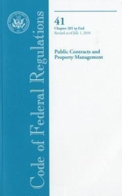 Public Contracts and Property Management - Herausgeber: Office of the Federal Register