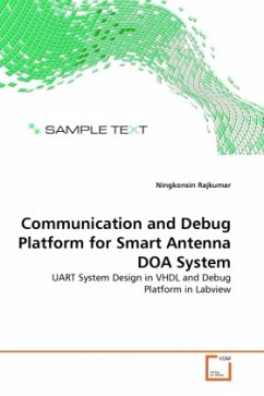 Communication and Debug Platform for Smart Antenna DOA System - Rajkumar, Ningkonsin