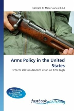 Arms Policy in the United States - Miller-Jones, Edward R.