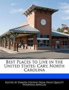 Best Places to Live in the United States: Cary, North Carolina - Stevens, Dakota