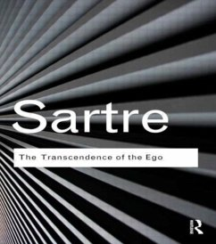 The Transcendence of the Ego - Sartre, Jean-Paul