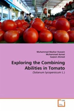 Exploring the Combining Abilities in Tomato - Mazhar Hussain, Muhammad Azmat, Muhammad Ahmed, Saqlain