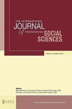 The International Journal of Interdisciplinary Social Sciences: Volume 5, Number 9