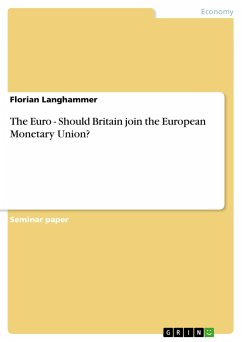 The Euro - Should Britain join the European Monetary Union? - Langhammer, Florian